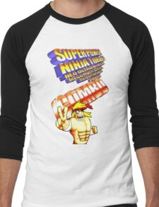 gravity falls Rumble McSkirmish fight fighters  Men's Baseball ¾ T-Shirt