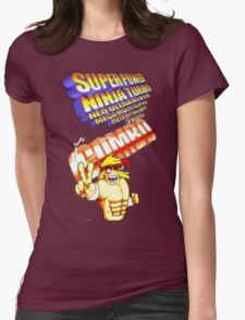 gravity falls Rumble McSkirmish fight fighters  Womens Fitted T-Shirt