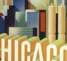 Vintage poster - Chicago Sticker