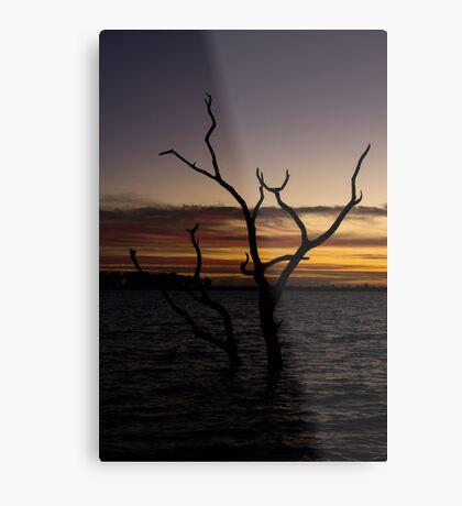 Taylors Lake - Sunset Metal Print