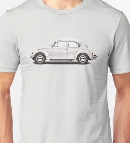 1969 Volkswagen Beetle Sedan - Toga White Unisex T-Shirt