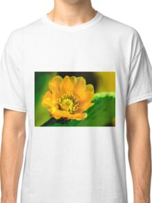 Prickly Pear Cactus Flower Classic T-Shirt