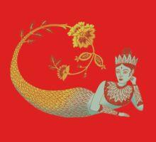 Flower Devi Green Goddess Kids Clothes