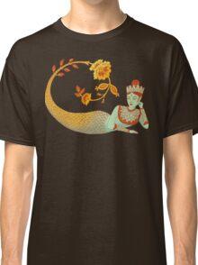 Flower Devi Green Goddess Classic T-Shirt