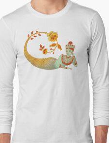 Flower Devi Green Goddess T-Shirt