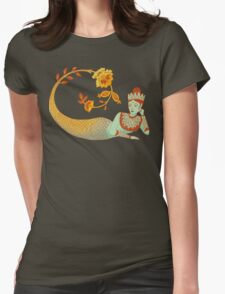 Flower Devi Green Goddess T-Shirt