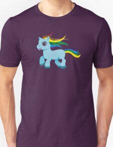 blue rainbow pony Unisex T-Shirt