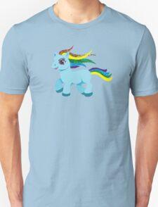 blue rainbow pony T-Shirt