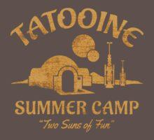 Tatooine Summer Camp Baby Tee