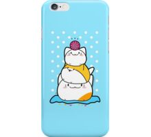 Kawaii Cat Aiko With Yarn Ball & Friends iPhone Case/Skin
