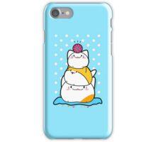 Kawaii Cat Aiko With Yarn Ball & Friends iPhone Case/Skin