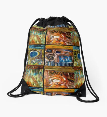 Vote With Your Dollar Drawstring Bag