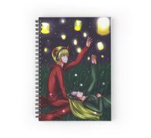 PewDieCry: Lanterns Spiral Notebook