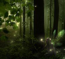 Misty Forest Fae by Melanie Moor