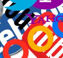 Internet Stuff | Google | YouTube | Yahoo | Wikipedia | Twitter | Facebook | Geek Stuff Sticker