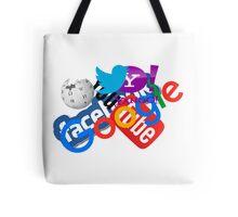 Internet Stuff   Google   YouTube   Yahoo   Wikipedia   Twitter   Facebook   Geek Stuff Tote Bag