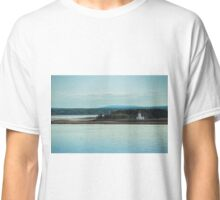 Nova Scotia Lighthouse Oceanscape and Landscape Classic T-Shirt