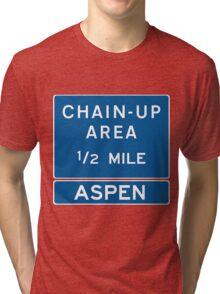 Chain Up! - Aspen Tri-blend T-Shirt