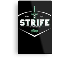 Strife Delivery Service Metal Print