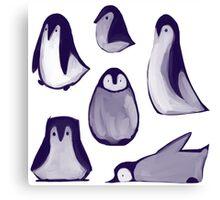Penguins! Canvas Print