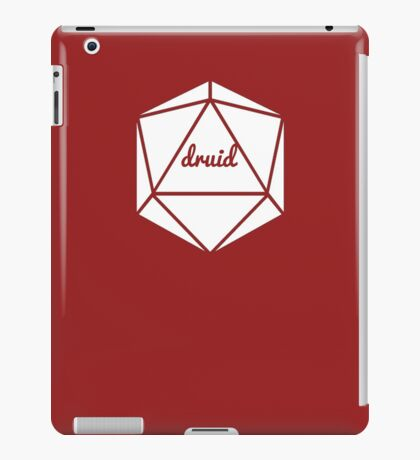 __dungeons and dragons druid iPad Case/Skin