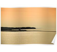 Nova Scotia Shoreline at Sunset Photograph Poster