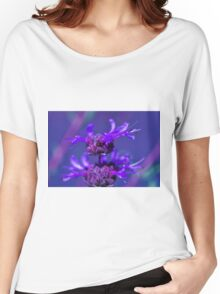 Purple Flower Women's Relaxed Fit T-Shirt