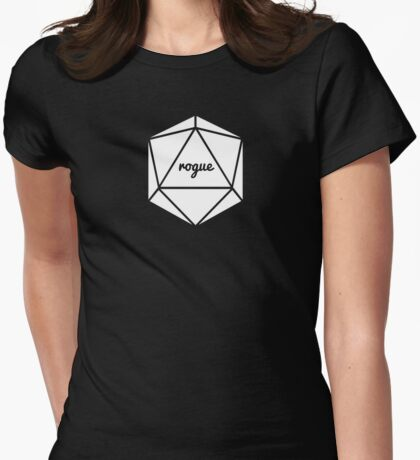 __dungeons and dragons rogue Womens Fitted T-Shirt