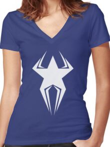 American Spider Women's Fitted V-Neck T-Shirt