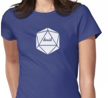 __dungeons and dragons druid Womens Fitted T-Shirt