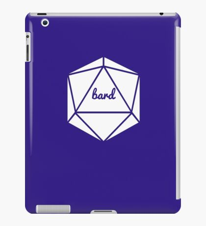 __dungeons and dragons bard iPad Case/Skin