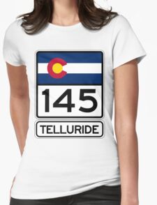 Telluride - Colorado's Gem Womens Fitted T-Shirt