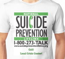 Suicide Prevention - TALK! Unisex T-Shirt