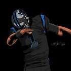 (Black Uniform) Cam Newton Dab  by AkaiTheDesigner