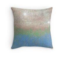 Willow Wattle Lake  Throw Pillow