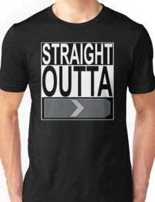 Straight Outta Silver 1 Unisex T-Shirt