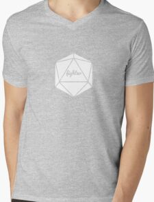 __dungeons and dragons fighter Mens V-Neck T-Shirt
