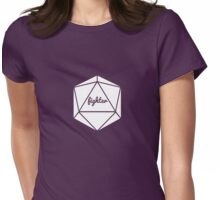 __dungeons and dragons fighter Womens Fitted T-Shirt