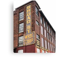 Broad Street Wharehouse Corporation Canvas Print