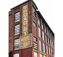 Broad Street Wharehouse Corporation Photographic Print