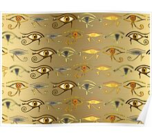 """Eyes of Horus""© Poster"