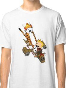 Captain Calvin Hobbes Classic T-Shirt