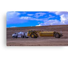Commercial Watering Truck Canvas Print
