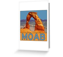 Moab Utah - Arches National Park - Delicate Arch Greeting Card