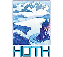 Hoth Camp Photographic Print