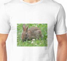 Bunny Rabbit eating Grass  Unisex T-Shirt