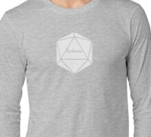 __dungeons and dragons barbarian Long Sleeve T-Shirt