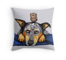 Quite The Pair, by Artwork by AK Throw Pillow