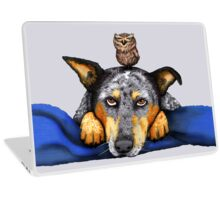 "Australian Cattle Dog, Blue Heeler, ""Quite The Pair"" Laptop Skin"