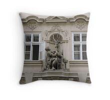 The golden Stag, Prague, Czech Republic Throw Pillow